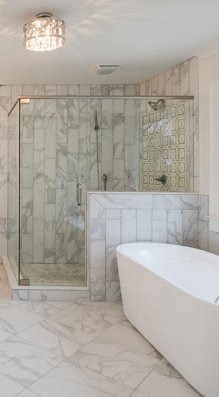 Bathroom renovations in Atlanta