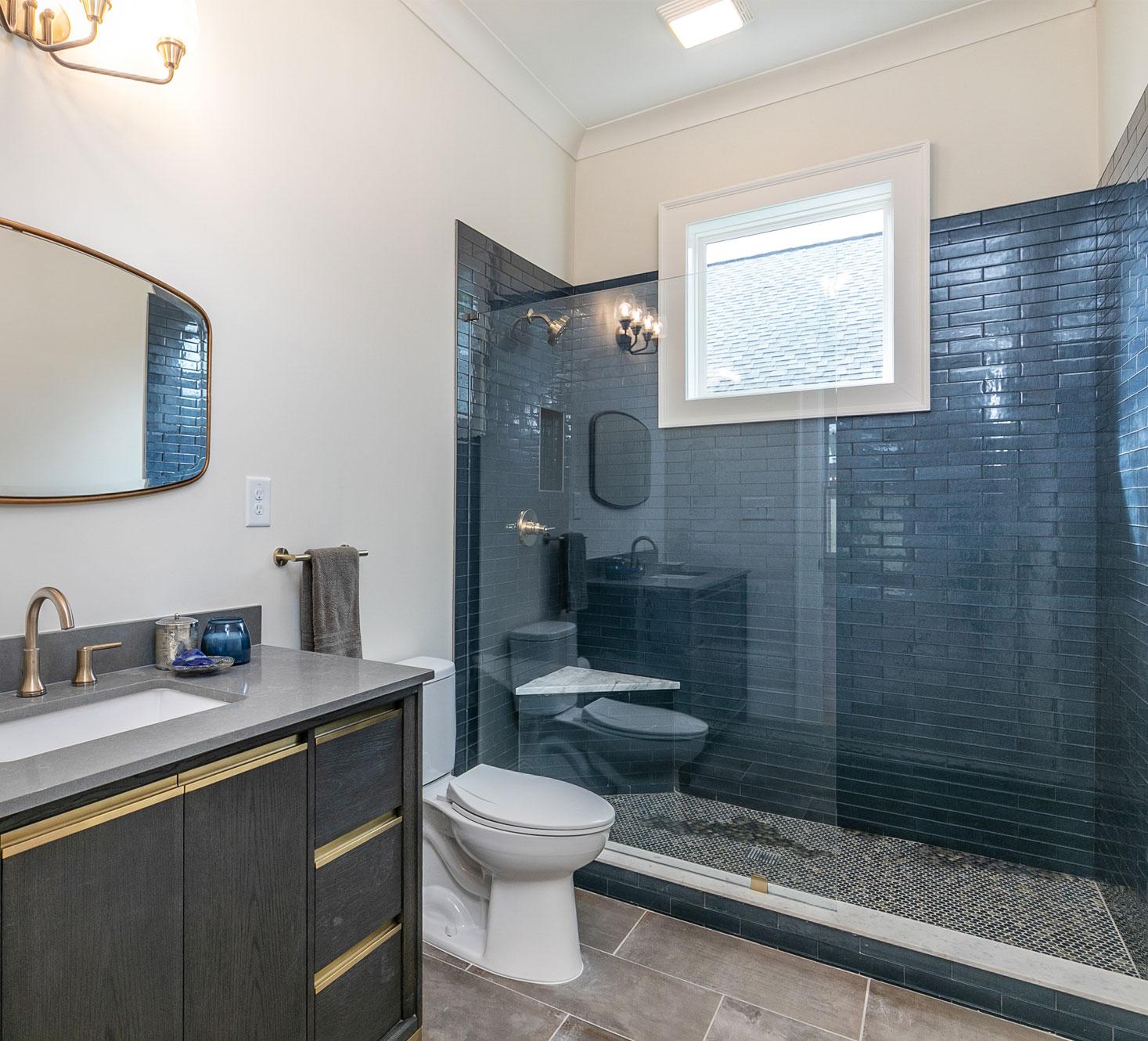 Bathroom renovation in Atlanta