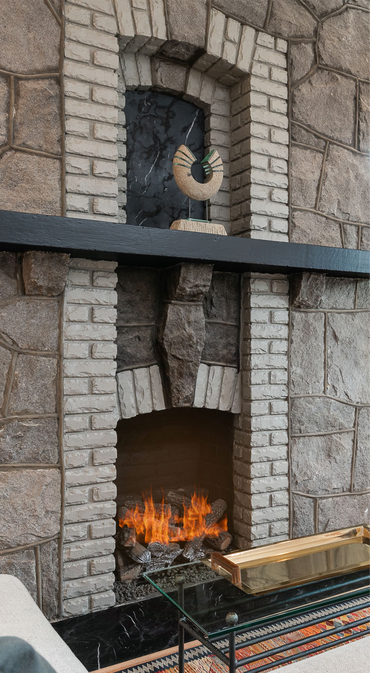 Fireplace renovation and construction in Atlanta