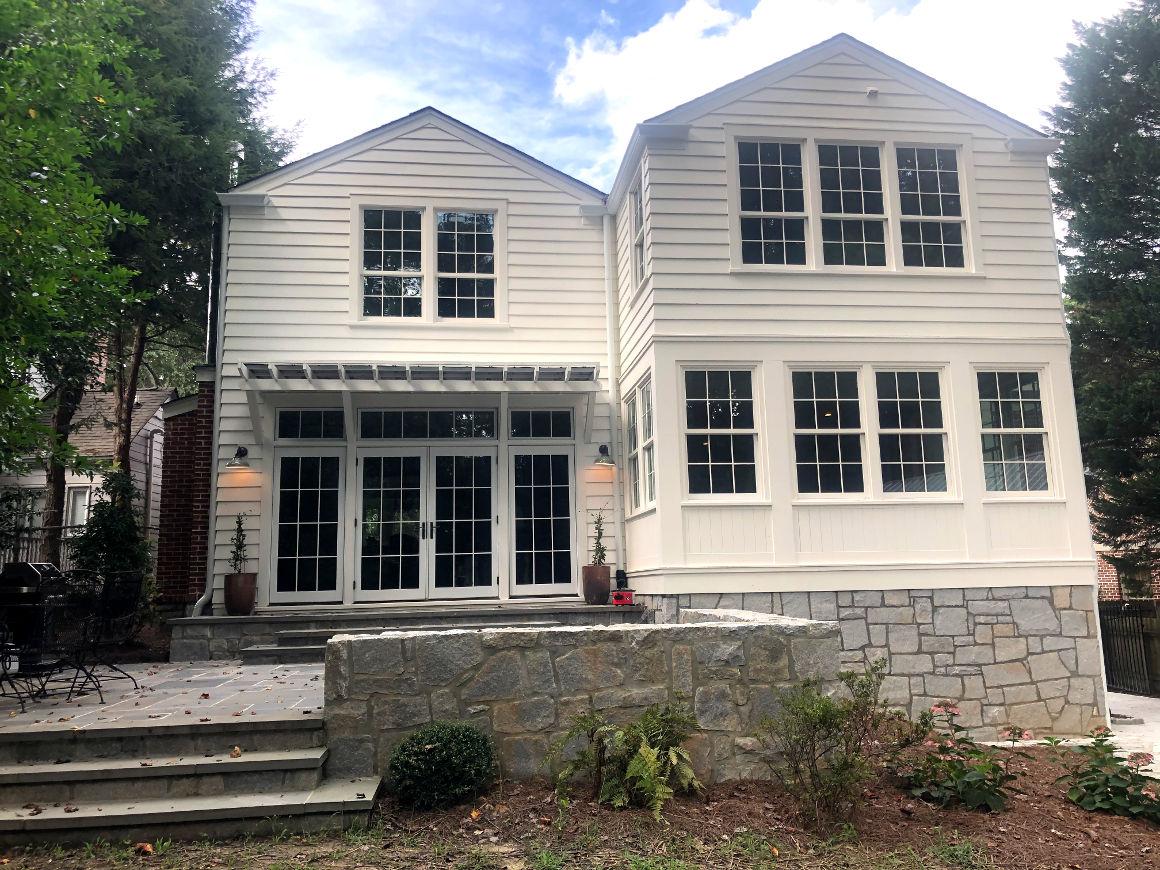 3 story house - rear