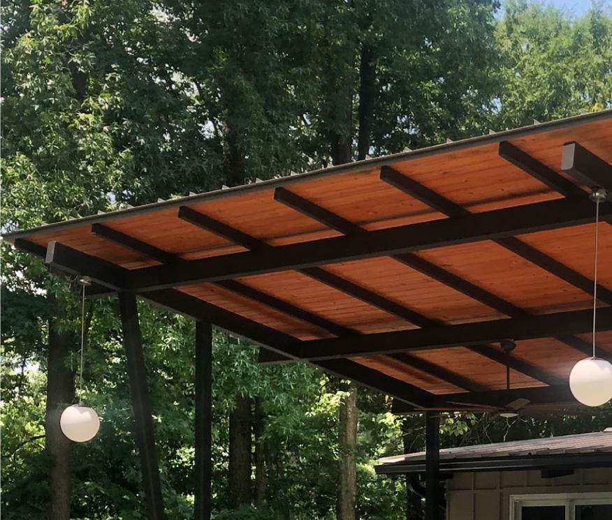 Outdoor space construction in Atlanta
